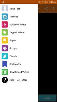 Plus: Video Downloader for Facebook скриншот 3