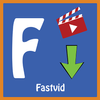 FastVid: Video Downloader for Facebook icon