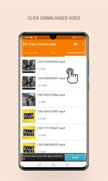 Videdownloader voor Facebook screenshot 3