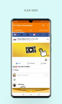 Videdownloader voor Facebook screenshot 1