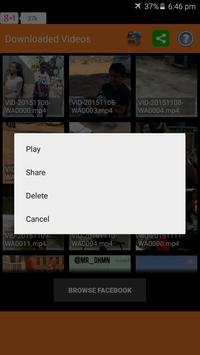 Video Downloader for Facebook screenshot 4