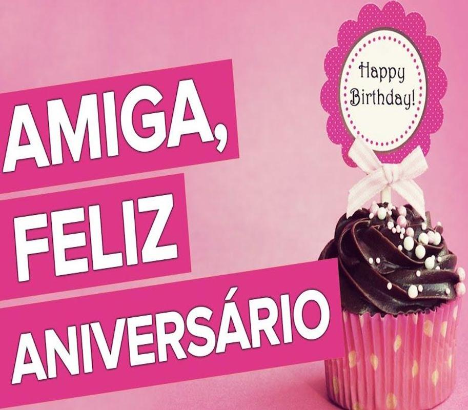 Feliz Aniversário Amiga Frases For Android Apk Download
