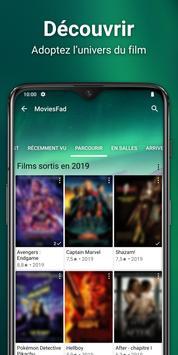 MoviesFad capture d'écran 2