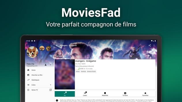 MoviesFad capture d'écran 6