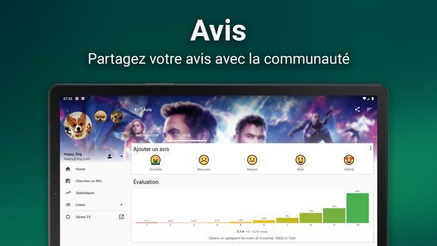 MoviesFad capture d'écran 7