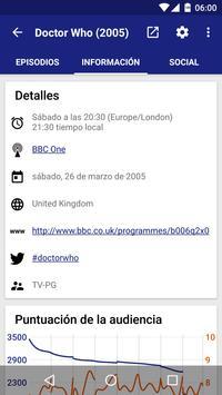 TV Series captura de pantalla 1