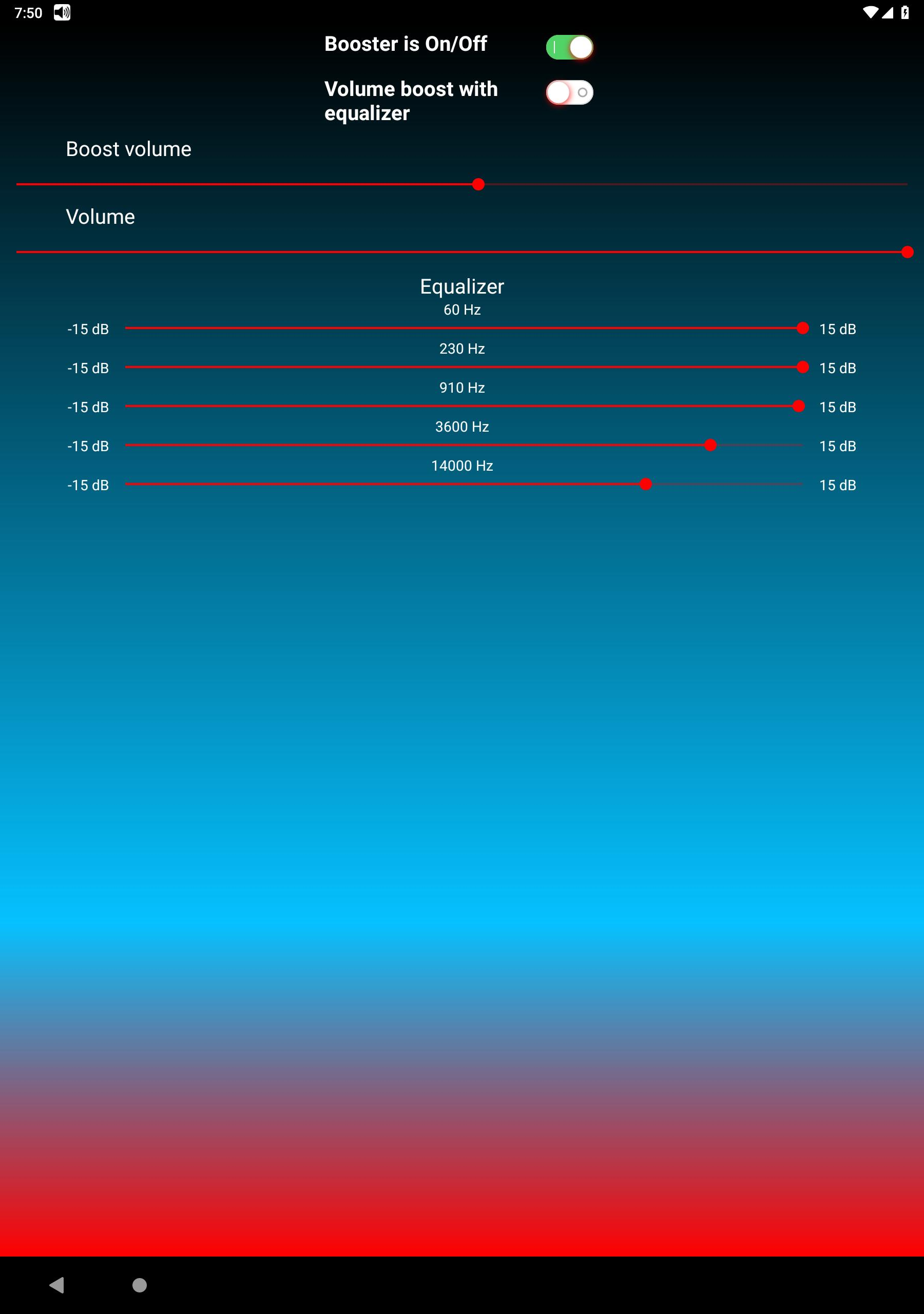 Loud Volume Booster For Headphones with Equalizer for Android - APK