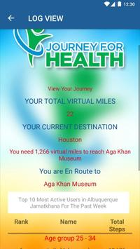 Journey for Health screenshot 4