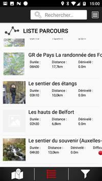 Randomobile Territoire de Belfort... à pied screenshot 1