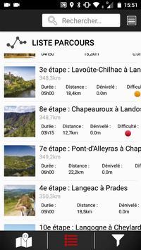 Randomobile GR470. Sources et gorges de l'Allier screenshot 2