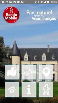 Randomobile PNR Vexin français poster