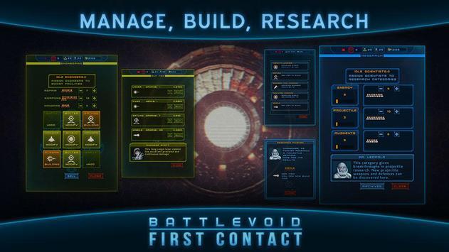 Battlevoid: First Contact تصوير الشاشة 1