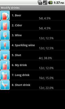 DrinkLess Free screenshot 3