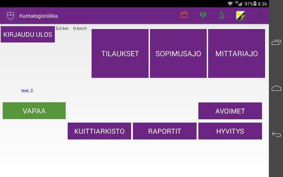 MunLog-Eksote screenshot 2
