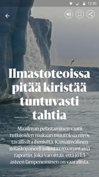 Helsingin Sanomat screenshot 1
