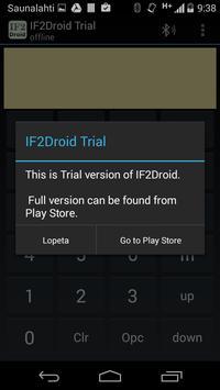 IF2Droid Trial screenshot 1