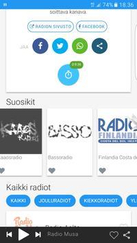 LiveTaajuus.fi Nettiradio screenshot 5