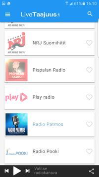 LiveTaajuus.fi Nettiradio screenshot 1