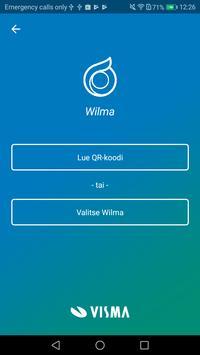 Wilma الملصق
