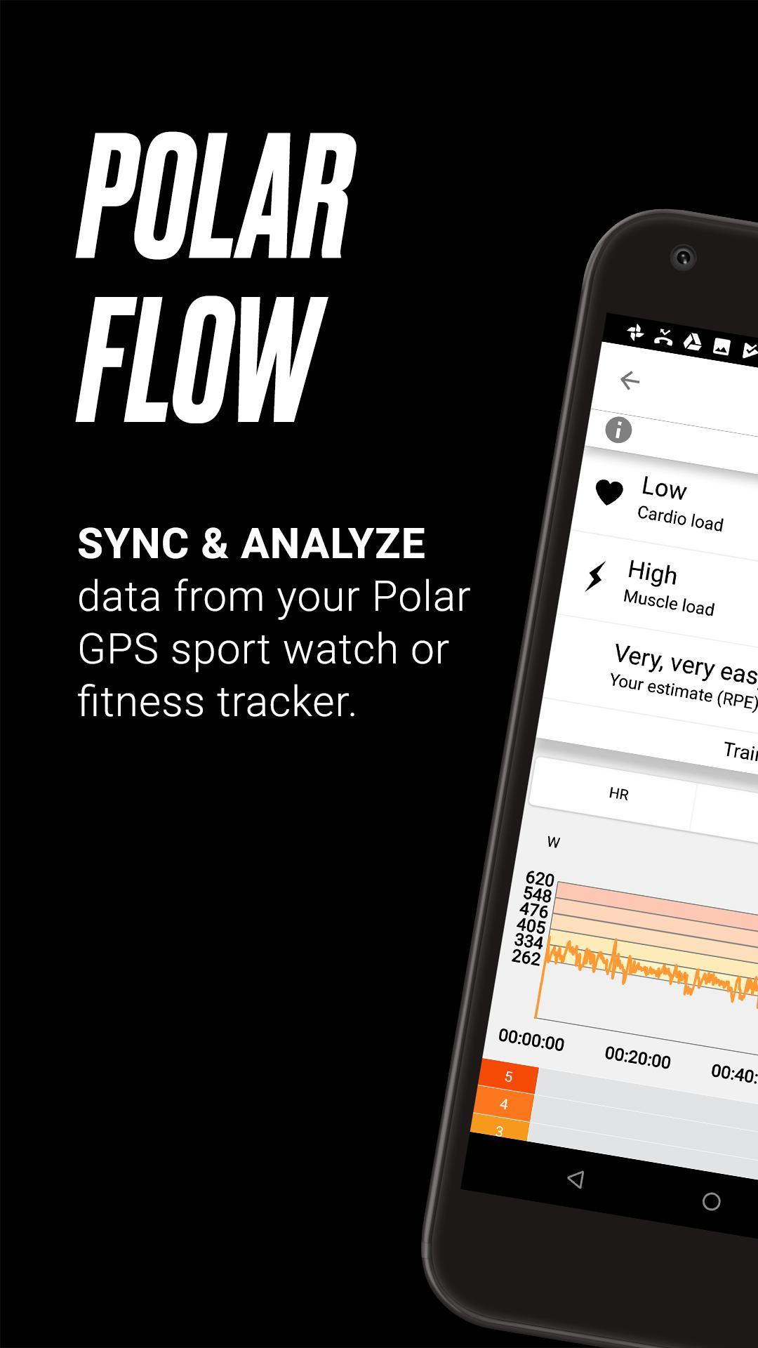 download e installazione di polar flowsync