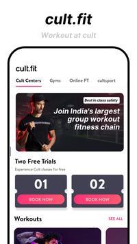 cure.fit Ekran Görüntüsü 1