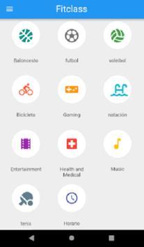 Fitclass screenshot 2