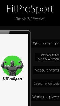 Poster Fitness Trainer FitProSport