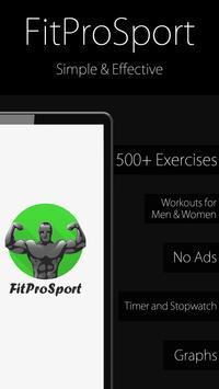 Poster Fitness Trainer FitProSport FULL