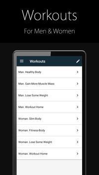 4 Schermata Fitness Trainer FitProSport FULL