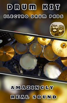 Drum Kit - Electro Drum Pads poster