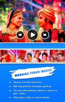 Marriage Photo Video Maker screenshot 1