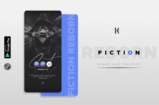 Fiction REBORN plakat
