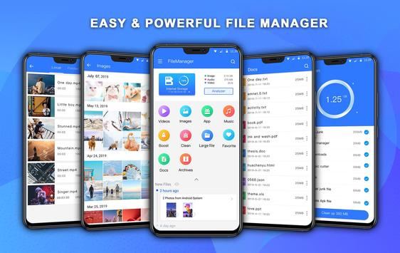 File Manager PRO with Best Booster and Analyzer poster