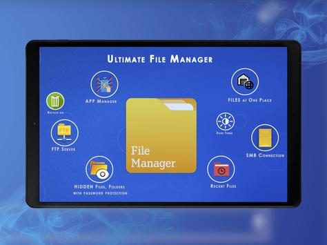 Ultimate File Manager - FTP & Vault स्क्रीनशॉट 5