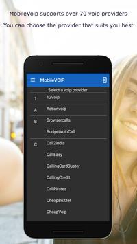 MobileVOIP 스크린샷 2