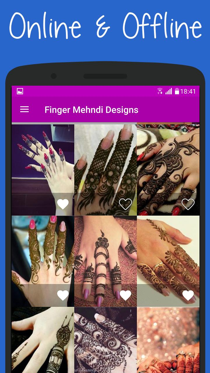 Mehndi Designs for Finger 2020 poster