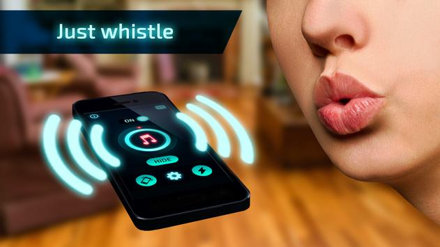 Where to find my phone: whistle. Don't lose device screenshot 5