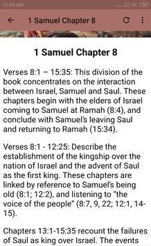 BOOK OF 1 SAMUEL - BIBLE STUDY screenshot 12