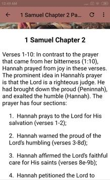 BOOK OF 1 SAMUEL - BIBLE STUDY screenshot 2