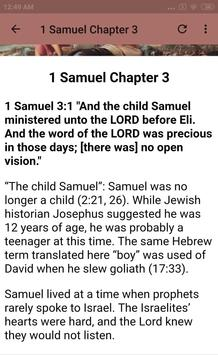 BOOK OF 1 SAMUEL - BIBLE STUDY screenshot 3