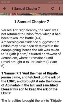 BOOK OF 1 SAMUEL - BIBLE STUDY screenshot 4