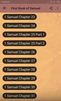 BOOK OF 1 SAMUEL - BIBLE STUDY screenshot 8