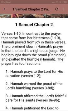 BOOK OF 1 SAMUEL - BIBLE STUDY screenshot 9