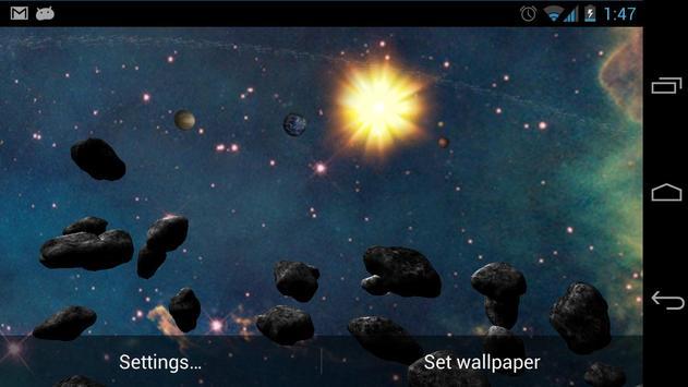 Asteroid Belt Free स्क्रीनशॉट 3