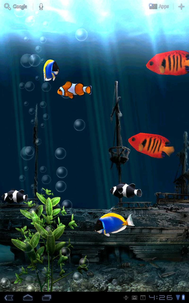 Aquarium Free Live Wallpaper For Android Apk Download