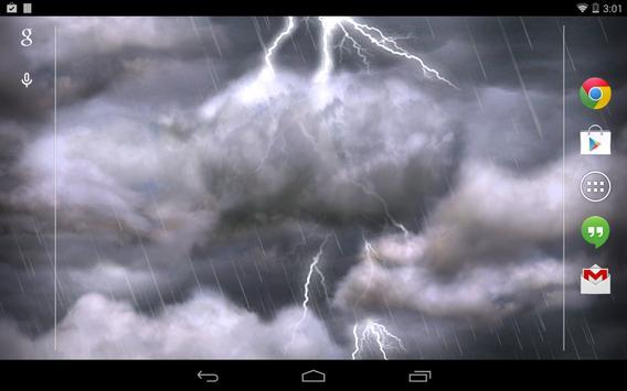Thunderstorm Free Cartaz