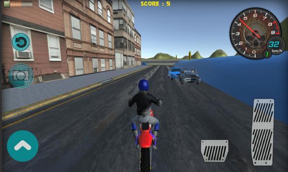Flying Bike Rider 2017 3D screenshot 4