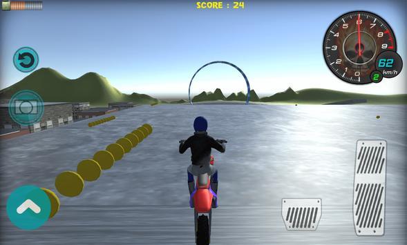 Flying Bike Rider 2017 3D screenshot 7