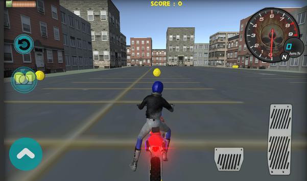 Flying Bike Rider 2017 3D screenshot 10