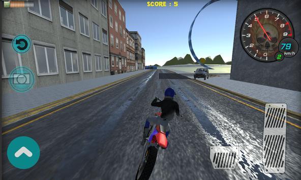 Flying Bike Rider 2017 3D screenshot 11